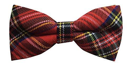503ca5c22289 Mens Scottish Royal Stewart Tartan Bow Tie - Great British Tie Club